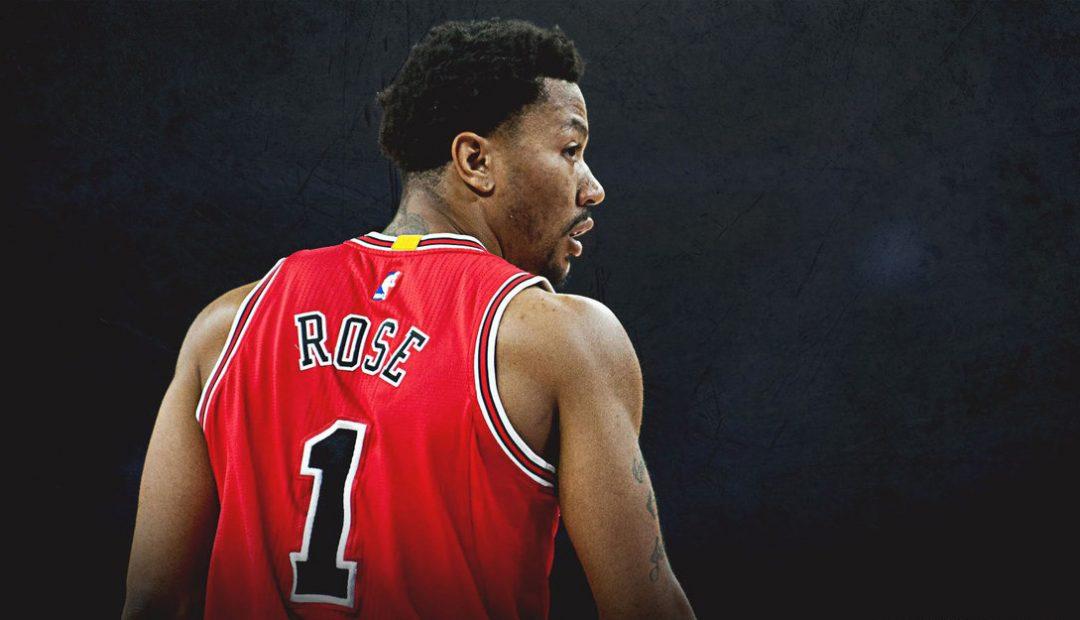 Camiseta Chicago Bulls Derrick Rose No.1